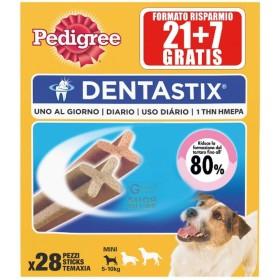 PEDIGREE DENTASTIX MINI FOR SMALL SIZE DOGS PUPPIES KG. 5-10