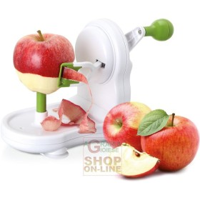 Apple peeler in abs eva 3 functions for apples pears potatoes