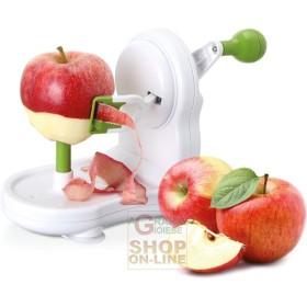 Pela mela sbucciatore in abs eva 3 funzioni per mele pere