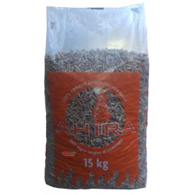 Pellets for Ahira stoves class EN PLUS A1 kg. 15