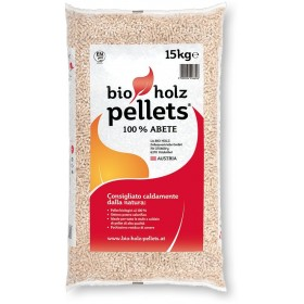 Pellets for Bio Holz stoves Fir wood pellets 100% kg. 15