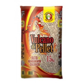 PELLETS FOR VULCANO STOVES HIGH CALORIC YIELD KG. 15