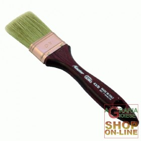 BRUSH BLONDE WOOD HANDLE S. 125 MM. 50