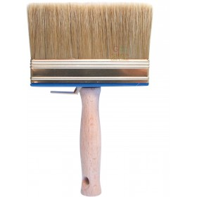PURE BRISTLE BRUSH WITH WOODEN HANDLE GR. 5X15 S76R