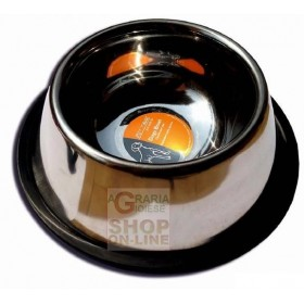 PET TRIBE COCKER BOWL FOR DOGS IN STAINLESS STEEL ML. 950