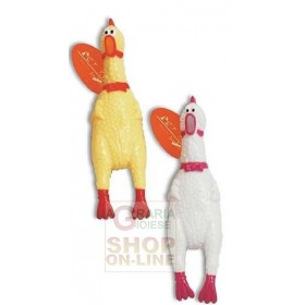 PET TRIBE HEN IN LATEX VERSO LIMITED CM. 16