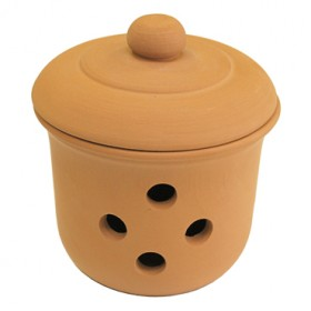 MOHA CONTAINER FOR ONION IN TERRACOTTA