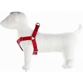 ADJUSTABLE HARNESS FOR DOGS SPEEDY IN NYLON MM. 15 SIZE M RED
