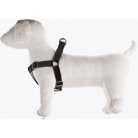 ADJUSTABLE HARNESS FOR DOGS SPEEDY IN NYLON MM. 25 SIZE XL BLACK