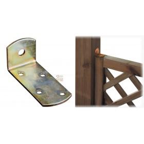 STEEL CORNER PLATE ART. 732 MM. 30 X 30 X 70