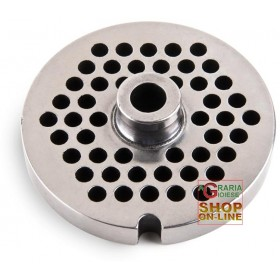STAINLESS STEEL PLATE FOR MEAT MINCER 12 HOLE 8