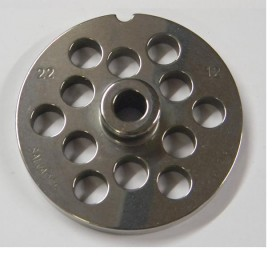 STAINLESS STEEL PLATE FOR MEAT MINCER 22 HOLE 12