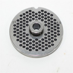 STAINLESS STEEL PLATE FOR MEAT MINCER 32 HOLE 4.5