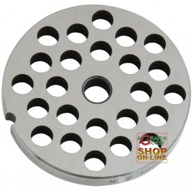 STAINLESS STEEL PLATE FOR MEAT MINCER 32 HOLE 10