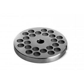 STAINLESS STEEL PLATE FOR MEAT MINCER 32 HOLE 12