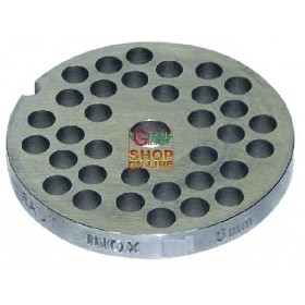 STAINLESS STEEL PLATE FOR MEAT MINCER 32 HOLE 8