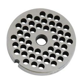 STAINLESS STEEL PLATE FOR MEAT MINCER 8 HOLE 6