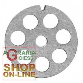 CARBON PLATE FOR MEAT MINCER 32 HOLE 12 MM.