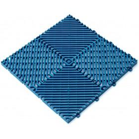 ANTI-SLIP RHOMBUS TILE FOR POOL EDGE JOINING CM.40X40 BLUE