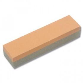 PIETRA 2 FACCE CORINDONE 10x12x100 GRIGGIO/ARANCIO