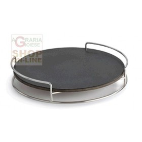 LOTUSGRILL BARBECUE STONE WITH SUPPORT