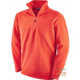 100% POLYESTER FLEECE WITH MOCK NECK RED COLOR SIZE S XXL