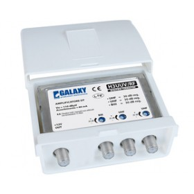 AMPLIFIER FOR TERRESTRIAL ANTENNA 2 UHF INPUT WITH VHF 30 DB