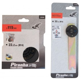 PIRANHA X32105 BACKING PAD FOR ANGLE GRINDERS D.115