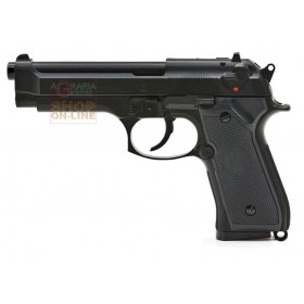 PISTOLA AIRSOFT M92F PESANTE CALIBRO MM. 6 JOULE 0.3