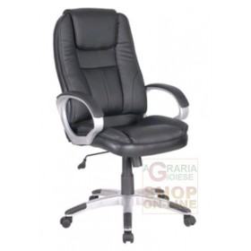 MANAGEMENT ARMCHAIR MOD. 1426 BLACK COLOR