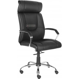 MANAGEMENT ARMCHAIR MOD. 1502 BLACK COLOR
