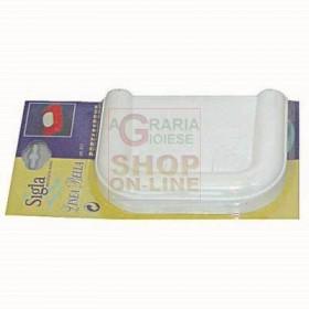 ABS SOAP HOLDER BELLA LINE WHITE ART. 517
