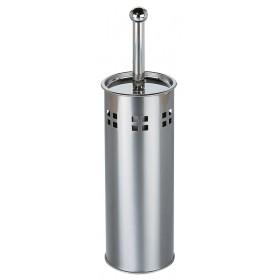 COMPLETE CHROMED METAL TOILET HOLDER ART. YL-0001
