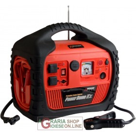POWER DOME TMEX MULTIFUNCTION CASE JUMP STARTER BOOSTER