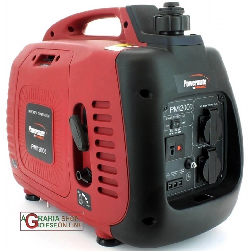 Pramac generatore inverter di corrente pmi 2000