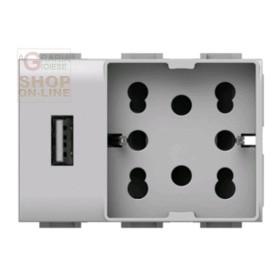 UNIKA USB SOCKET UNIVERSAL MATIX COD. 4B AM H21 USB