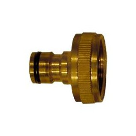 BRASS TAP SOCKET STANDARD QUICK COUPLING SIZE 1 inch