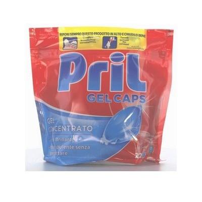 PRIL DISHWASHER 22 CAPS CONCENTRATED GEL