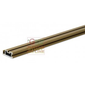 ALUMINUM PROFILE FOR IRS CLARISSA MOSQUITO NET H. 2 MT. BROWN