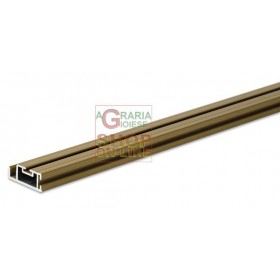 ALUMINUM PROFILE FOR IRS CLARISSA MOSQUITO NET H. MT. 3 BROWN