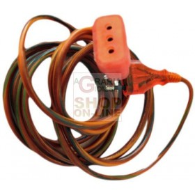 DOMESTIC EXTENSION SOCKET 10A CABLE SECTION 3G1 MM.MT. 3