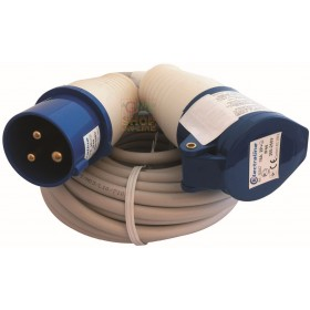IP44 INDUSTRIAL RUBBER EXTENSION CABLE 3 X 1.5 MT. 10