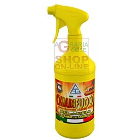 CLEAR GLASS CLEANER IDEAL FOR CLEANING THE GLASS OF FIREPLACES AND STOVES ML. 750