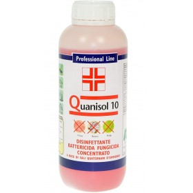 QUANISOL 10 CONCENTRATED FUNGICIDE BACTERICIDE DISINFECTANT