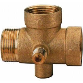 BRASS FITTING FOR 1 INCH 5-WAY AUTOCLAVE