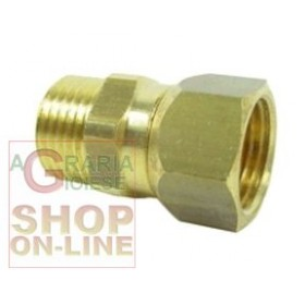 1/2 '' SWIVEL BRASS FITTING