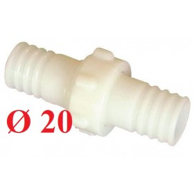 NYLON FITTING GR. 20 PIPE JOINTS 3 PCS.