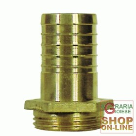 BRASS HOSE FITTING M. 2X50