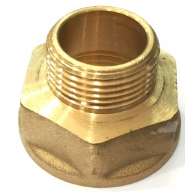 EXTENSION REDUCTION FITTING IN BRASS F / M 1 X 3/4 IN. ART. 246