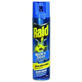 RAID SPRAY INSECTICIDE FLIES AND MOSQUITOES ML. 400